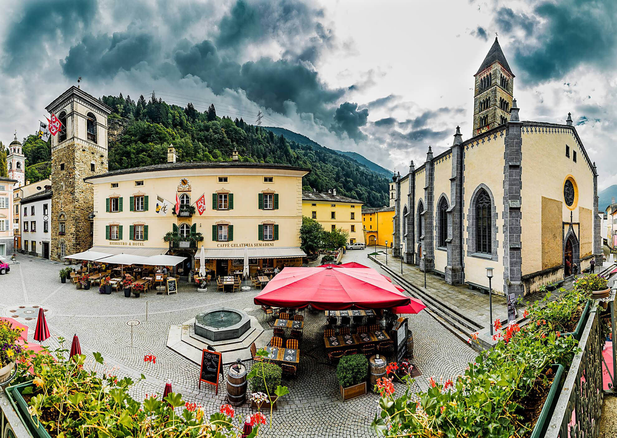 The Square of Poschiavo